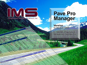 IMS PavePRO Manager Software